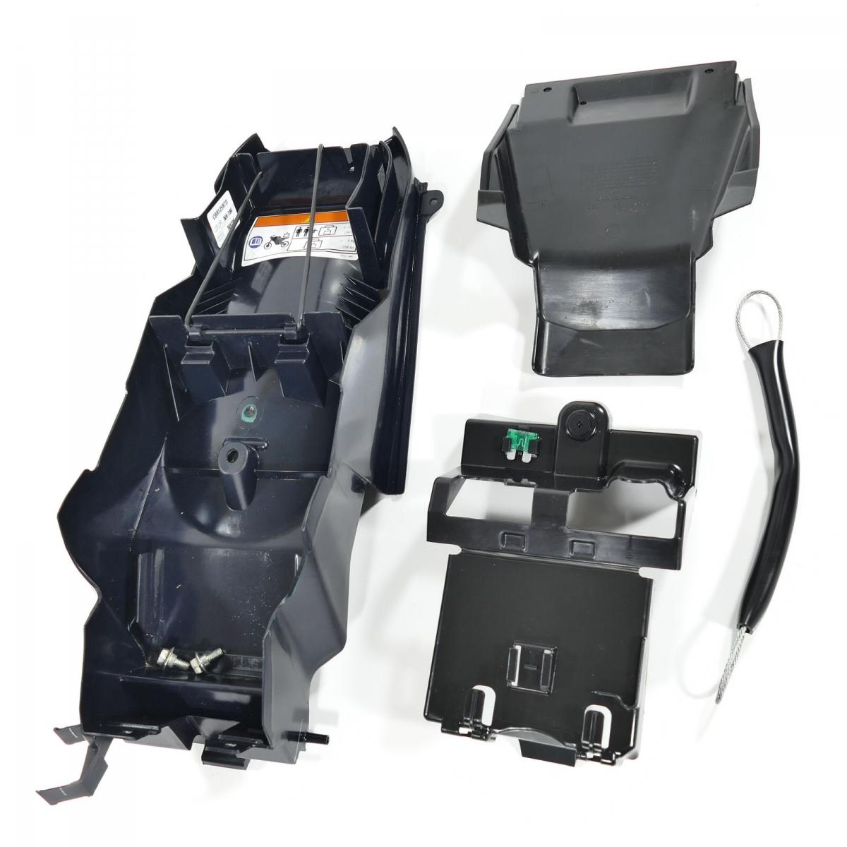 honda cbr125r jc50 heckinnenverkleidung kotfl gel bn bikes. Black Bedroom Furniture Sets. Home Design Ideas